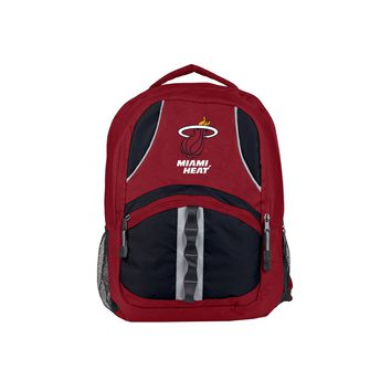 "Miami Heat Backpack 18.5x8x13 ""Captain"" Official NBA"