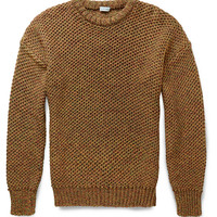 Loewe - Open-Knit Cotton Sweater | MR PORTER