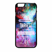 Harry Potter Quote In Galaxy Nebula iPhone 6 Plus Case