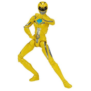 2017 Mighty Morphin Power Rangers Legacy 6.5 inch Action Figure - Yellow Ranger