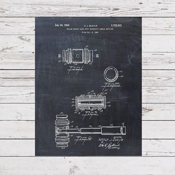 Patent Print - Gavel Patent Art Print Patent Poster - Law Student - Law School - Law Office Wall Art - Justice