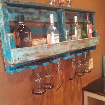Pallet Bar Shelf