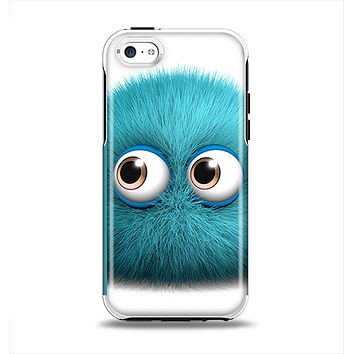The Teal Fuzzy Wuzzy Apple iPhone 5c Otterbox Symmetry Case Skin Set