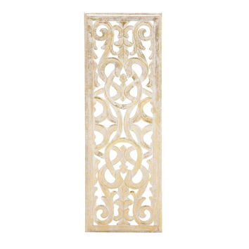Benzara Attractive Wall Panel Golden