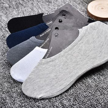 20pcs=10 Pairs Man Women Cotton Socks Summer Hot Sale Soft Sock Slippers No Show Invisible Ankle Female Sock Slippers