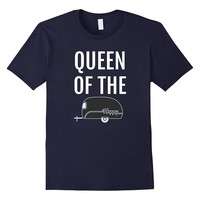 Camping T-Shirt - Queen of the Camp Funny Camper Shirt