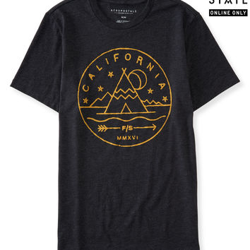 Free State California Teepee Graphic T