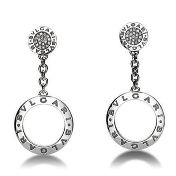 Bulgari Bulgari Diamond Drop Earrings