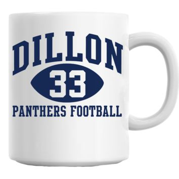 Dillon Panthers Football Mug
