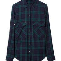 CHECKED SHIRT - Tops - Woman | ZARA Canada