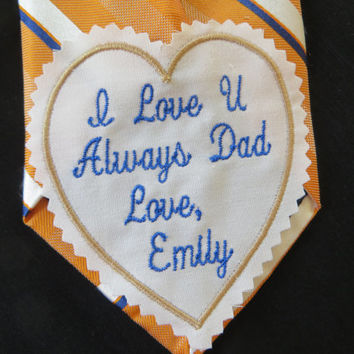 Rustic wedding ideas.Tie Patch.Tie Patches. Necktie label.Father of Bride.Groom. Uncle.Step Dad. Personalized Gift.Monogrammed Gift
