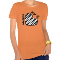 Wild at Heart with Custom Name V17 T-shirt