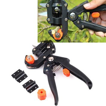 New Garden Fruit Bonsai Tree Grafting Tools 2 Blade garden tools set pruner Tree Cutting Tool Scissors Vaccination Knife