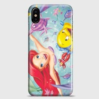 The Little Mermaid iPhone X Case