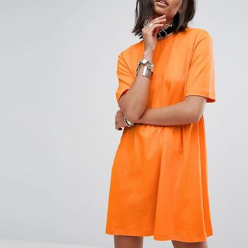 Rokoko Smock T-Shirt Dress at asos.com