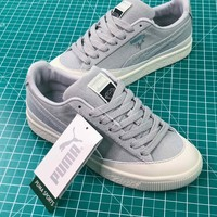 Diamond Supply Co. X Puma Clyde Grey Women's Sneakers Shoes - Best Online Sale