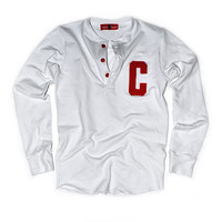 Row Varsity Henley (White)