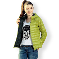 Cotton Hooded Women Jacket New Fashion Winter Casual Thin Women Coat Slim Warm Padded Outwear chaquetas mujer
