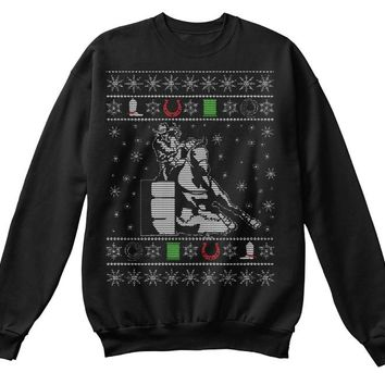 Barrel Racer UGLY Christmas Sweatshirt