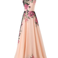 Grace Karin Pinup Vintage Rockabilly Evening Gown Long WEDDING Party Bridesmaid Prom Dresses = 1956857988