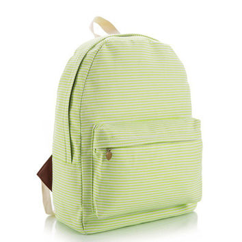 Lovely Korean Cute Canvas Backpack = 4888026116