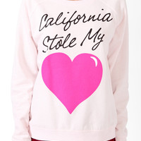 Cali Stole My Heart Pullover