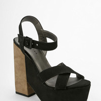Grey City Polly Platform Sandal - Urban Outfitters