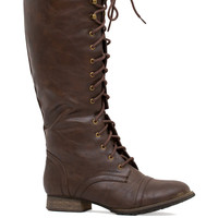 Savvy Writer Boots in Brown