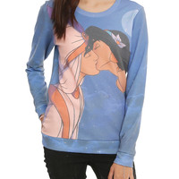 Disney Aladdin Jasmine Kiss Girls Pullover Top