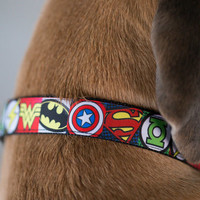 Superhero Dog Collar  -Australian Made