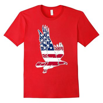 American Flag Eagle t-shirt