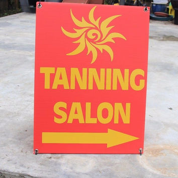Best salon sign products on wanelo for 24 tanning salon