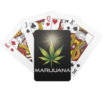 Marijuana Playing Cards
