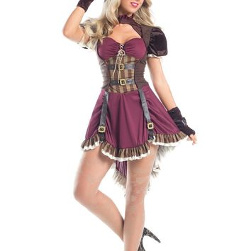 BW1550 3 Piece Steampunk Mad Hatter Costume - Be Wicked