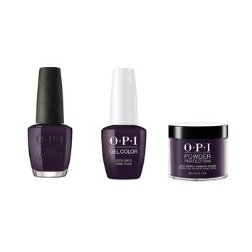 OPI - Gel, Lacquer & Dip Combo - Good Girls Gone Plaid