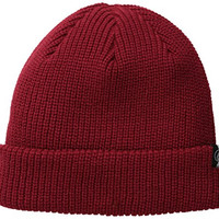 Volcom Men's Sweep Beanie, Blood Red, One Size
