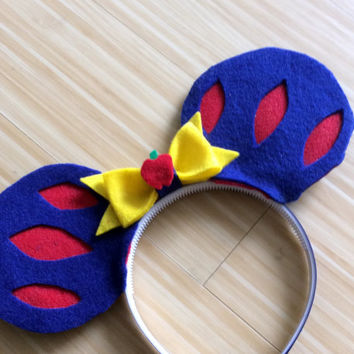 Snow White Mouse Ears Headband