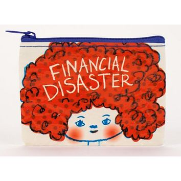 Financial Disaster Coin Purse in Ginger