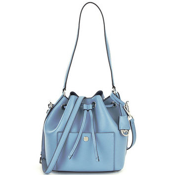 MICHAEL Michael Kors Greenwich Medium Bucket Bag | Dillards