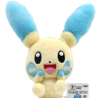 "Banpresto 48357 Minum Electric Pokemon 7.5"" Plush Doll"