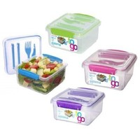 Sistema 21652 Klip It Lunch Plus To Go Container
