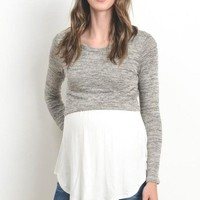 Boston 2 in 1 Layered Maternity Top