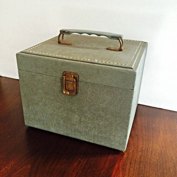 Industrial Box, Vintage Storage Box