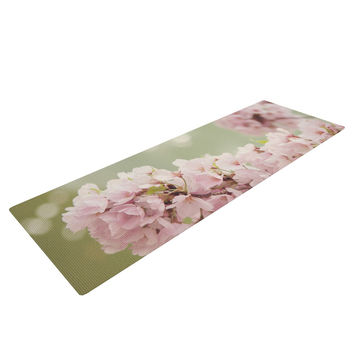 "Catherine McDonald ""Cherry Blossom"" Yoga Mat"