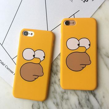 hcxx simpsons iphone cover 1
