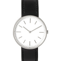 Uniform Wares - M37 PSI-01 Black Stainless Steel and Leather Wristwatch