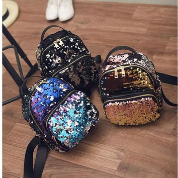 Reversible Sequin Mini Backpack - preorder