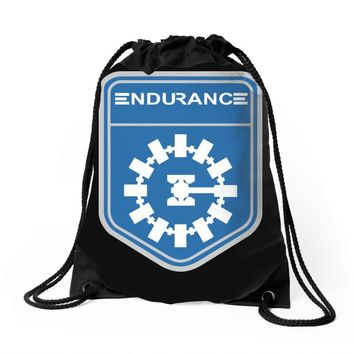 endurance space exploration Drawstring Bags