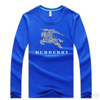 Burberry  Casual Long Sleeve Top Sweater Pullover