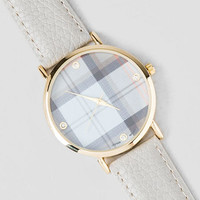 Remington Plaid Watch